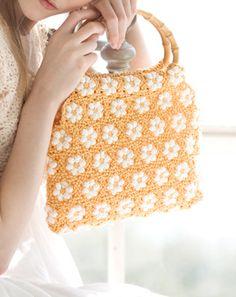 花モチーフのバッグ|手づくりタウンのレシピ屋さん|手づくりタウン|日本ヴォーグ社