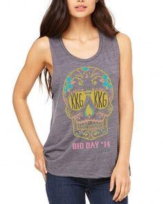 Kappa Kappa Gamma Bid Day Muscle Tee