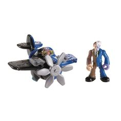 "Fisher-Price Imaginext DC Super Friends Figure - Two-Face with Plane - Fisher-Price - Toys ""R"" Us"