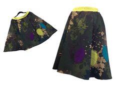 Melancolina, fusta din bumbac imprimat Skirts, Fashion, Moda, Fashion Styles, Skirt, Fashion Illustrations, Gowns, Skirt Outfits
