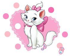 Gatos Disney, Disney Cats, Lilo Et Stitch, Marie Cat, Gata Marie, Cartoon Sketches, Love Wallpaper, Tarzan, Cute Disney