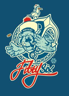 Captain56 by mr.FIFTYSIX , via Behance