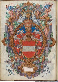 Image Austria, Victorian Interiors, Medieval Art, Crests, Coat Of Arms, Renaissance, Illustration, Miniatures, Fantasy