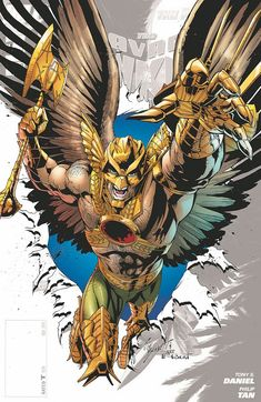 THE SAVAGE HAWKMAN #0 by JOE BENNETT and ART THIBERT (Tony S. Daniel, Philip Tan)