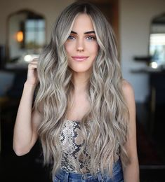 Blonde Hair With Brown Roots, Blonde With Brown Lowlights, Cool Ash Blonde, Ash Blonde Hair Dye, Ashy Hair, Ash Blonde Balayage, Blonde Hair With Highlights, Brown Hair, Brownish Blonde Hair Color