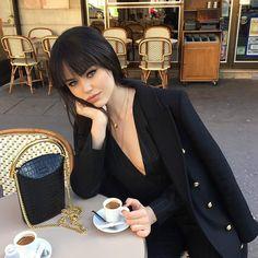 Blazer game with Kristina Bazan. #loreal #lorealista #fashionweek #kristinabazan #blazer #fashion #fashionweek #fabfashionfix
