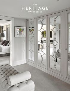 Our luxury bespoke wardrobes & dressing rooms can transform your interior space.