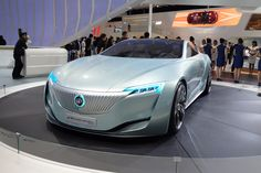 The new Buick Riviera concept vehicle made its global debut on last Friday evening in Shanghai. It is the fourth global Riviera concept developed jointly by GM's Shanghai GM and Pan Asia Technical Automotive Center (PATAC) joint ventures in Shanghai.