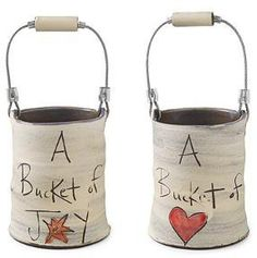 #Ununcommongoods          #love                     #BUCKET #LOVE #Jar, #Vase, #Eric #Noelle #Hendrick, #Inspirational #Gift, #UncommonGoods                BUCKET OF JOY & LOVE | Jar, Vase, Eric and Noelle Van Hendrick, Inspirational Gift, For Her | UncommonGoods                                                 http://www.seapai.com/product.aspx?PID=63448