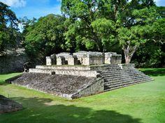 ruinas mayas en Copán, Honduras