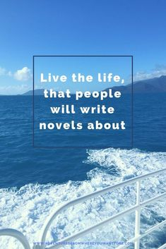 Live the life, that people will write novels about. Come see some of our favourite travel quotes to live by. : Live the life, that people will write novels about. Come see some of our favourite travel quotes to live by. Life Quotes To Live By, Funny Quotes About Life, New Travel, Travel Usa, Travel Tips, Solo Travel, Inspirational Wallpapers, Inspirational Quotes, Motivational