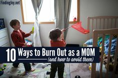 These ten things can lead to mom burnout. Do you know them?