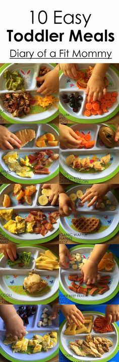 Ideas for toddler meal planning