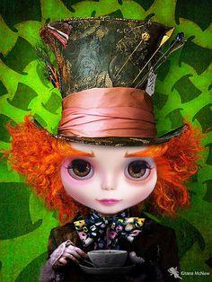 Mad Hatter - Kiffany como Chapeleiro Maluco, via Flickr.
