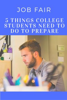 Job Fair: The 5 Things College Kids Should Do Now to Prepare