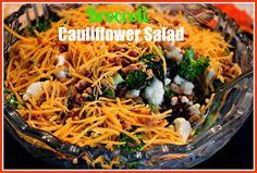 Sweet Tea and Cornbread: Broccoli Cauliflower Salad!