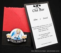 Modelo Convite Chá Bar