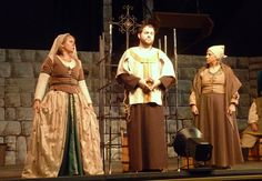 """church Trio, including myself on left The Barber My Costume Design & Construction and Scenic Painting For """"Man of La Mancha"""" @ Saint Mary's Little Theatre Sept. Photograph by Stacey Schofield Man Of La Mancha, Little Theatre, Costume Design, My Works, Barber, Medieval, Drama, Photograph, Construction"""