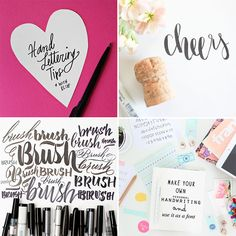Hand Lettering Tips and Tricks | The Blog Market