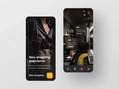 Fashion Mobile App designed by Anastasia Marinicheva for Neentech. Connect with them on Dribbble; the global community for designers and creative professionals. Mobile App Ui, Mobile App Design, New Experience, Web Design, Graphic Design, Design Inspiration, Anastasia, Phone, Instagram Posts