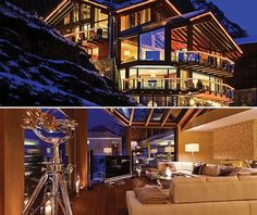 Chalet Zermatt Peak in the Swiss Alps, Probably the Most Luxurious Ski Vacation Ever