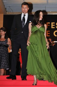 Brad Pitt Photos - Angelina Jolie and Brad Pitt depart from the Kung Fu Panda Premiere at Palais des Festivals during the International Cannes Film Festival on May 15 , 2008 in Cannes, France. Brad Pitt Haircut, Brad Pitt Photos, Palais Des Festivals, Bridesmaid Dresses, Wedding Dresses, Most Beautiful Man, Cannes Film Festival, Angelina Jolie, Awards