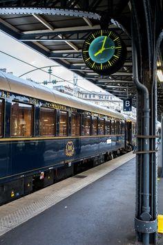 The Journey of a Lifetime Aboard Belmond's Venice Simplon-Orient-Express - STACIE FLINNER Venice Simplon Orient Express, Bonde, Old Trains, Train Journey, Ways To Travel, Train Rides, Train Travel, Luxury Travel, Luxury Cars