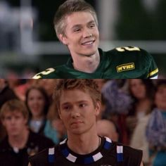 One tree hill and cinderella story Movies Showing, Movies And Tv Shows, Chad Micheals, One Tree Hill Quotes, Lucas Scott, A Cinderella Story, Chad Michael Murray, Football And Basketball, Film Serie