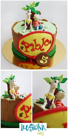 Phineas y Ferb.. Jajajajaj me muerooooo...me encanto