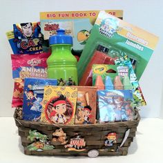 Gift Basket For Your Little Boy Fun And Adventurous Boy 16th Birthday, Birthday Fun, Fundraiser Baskets, Gifts Sets, Kids Gift Baskets, Boredom Busters, Xmas, Christmas, Nifty