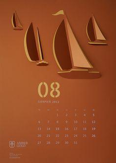 """""""Cut Out"""" Wall Calendar"""