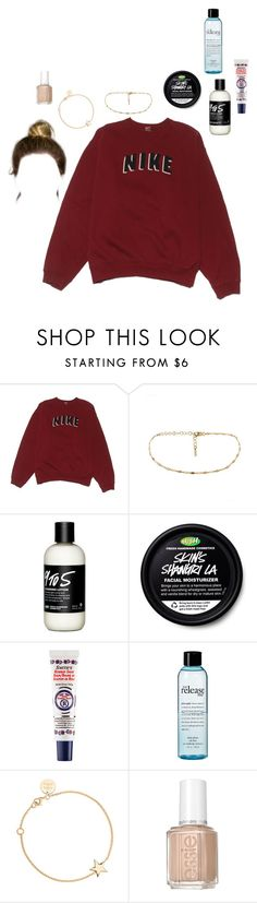 """""""skincare routine video"""" by stylistcookies ❤ liked on Polyvore featuring NIKE, Rosebud Perfume Co., philosophy and SOPHIE by SOPHIE"""
