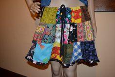 Eco Friendly Upcycled Drawstring Patchwork by GypsyMountainBazaar, $30.00