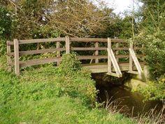 Bridge over Bourn Brook nr to Grantchester