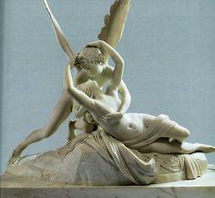 """жизнь имитирует искусство-гораздо более: """" Антонио Канова (1757-1822) """"Психея…"""
