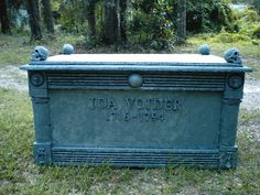 "Crypt - steps to making it...he named the ""deceased"" IDA VOIDER....  ahhahaha    I would avoid her!  Classic"