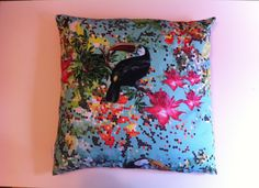 Coussin toucan Camille&Sam
