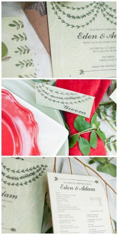 Garden of Eden wedding inspiration