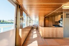 The ship, originally built in the has long served as a scheduled-service and excursion vessel for the Lake Constance Shipping Company. Fritz, Cafe Shop, Boat Design, Restaurant, Building, Ideas, Architects, Switzerland, Coffee Shops