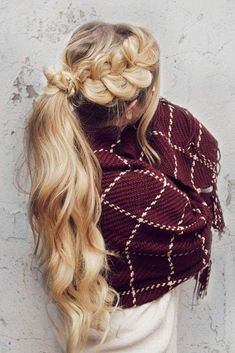 Best Hairstyles & Haircuts for Women in 2017 / 2018 : If you want to try something new but you have no idea how to do it these braid