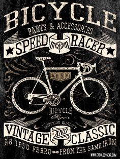 The Bicycle Bycicle Retro, Bycicle Art Cycling Art, Cycling Bikes, Cycling Quotes, Cycling Jerseys, Pink Bike, Bike Illustration, Vintage Inspiriert, Bike Poster, Vintage Cycles