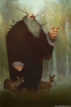 Father winter by ~alexson1 on deviantART~ Old Man Winter is a personification of winter, sometimes also called Father Winter.     He may be an alternative older name for Father Christmas and has been identified with the Old English god Woden.[dubious – discuss]     Old Man Winter is referenced in several poems.   Father Frost (fairy tale)   Jack Frost, another personification of winter   Ded Moroz, the Russian Santa Claus, sometimes identified with Father Winter