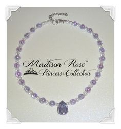 Princess Pendant Necklace from the Madison Rose by Irbella on Etsy, Affordable Jewelry, #PrincessJewelry #PhotoProp #DressUp #Halloween #Sophia #Fairy #Princess