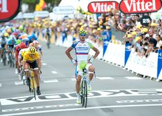 2012 Tour de France, stage 1 - Peter Sagan  Sagan starts off with a win in style. Photo: Casey B. Gibson | www.cbgphoto.com