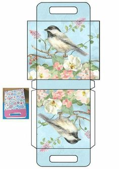 Discover thousands of images about Black Capped Chickadee bag JB Diy Gift Box, Diy Box, Gift Boxes, Diy Paper, Paper Crafts, Paper Box Template, Printable Box, Craft Box, Paper Toys