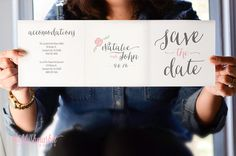 Unique and Creative Save the Date for Our Big by TheBlushMarket, $75.00