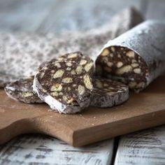 Saucisson au chocolat et Petit Beurre®
