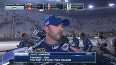 Jimmie Johnson Recovers for Runner-Up at Bristol