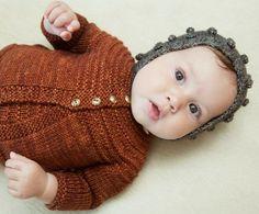 Misha and Puff — baby cardigan