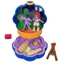 Pocket Polly, Polly Pocket World, Toddler Toys, Kids Toys, Arte Pop Up, Figurine Star Wars, Mattel Shop, Minnie Mouse Toys, Mermaid Tails For Kids